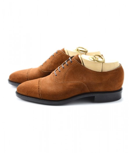 PUNCHED CAP TOE OXFORD(ラバーソール)